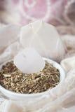 Tè sciolto della passiflora (passiflora) Fotografie Stock Libere da Diritti