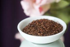 Tè sciolto di Honeybush (tè di Intermedia di Cyclopia) Fotografia Stock Libera da Diritti
