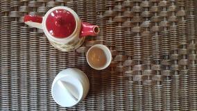 Tè sulla tavola Fotografia Stock Libera da Diritti