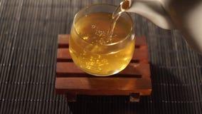 Tè Tè cinese Specie di Puer di tè archivi video