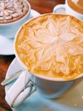 Tè tailandese caldo del latte Immagine Stock