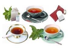Tè-Tazze Immagine Stock