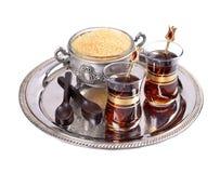 Tè turco immagine stock