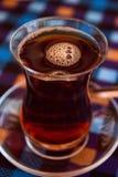 Tè turco caldo Fotografie Stock