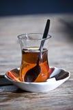 Tè turco tradizionale Fotografia Stock Libera da Diritti