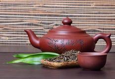 Tè verde Fotografie Stock