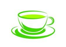 Tè verde Immagini Stock