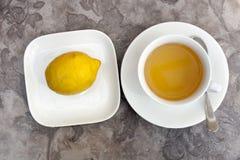 Tè verde Immagine Stock