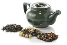 Tè verde allentato Immagini Stock