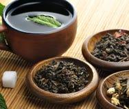 Tè verde allentato Immagini Stock Libere da Diritti