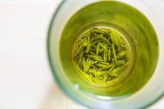 Tè verde cinese Fotografia Stock
