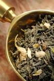 Tè verde con il gelsomino Fotografia Stock Libera da Diritti