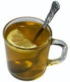 Tè verde con il limone Fotografia Stock Libera da Diritti