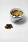 Tè verde del gelsomino Fotografia Stock Libera da Diritti