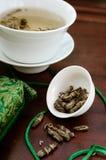 Tè verde del gelsomino Immagini Stock