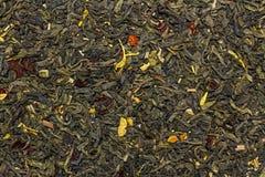 Tè verde della frutta secca Immagini Stock Libere da Diritti