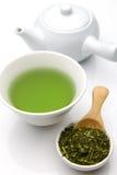 Tè verde di Jananese Immagini Stock Libere da Diritti