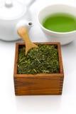 Tè verde di Jananese Immagini Stock