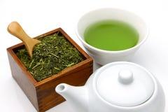 Tè verde di Jananese Immagine Stock Libera da Diritti