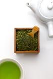Tè verde di Jananese Fotografia Stock