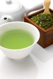 Tè verde di Jananese Immagine Stock