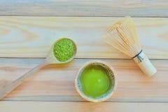 Tè verde di Matcha immagine stock libera da diritti
