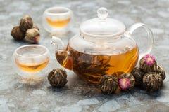 Tè verde esotico immagini stock