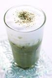 Tè verde ghiacciato Fotografia Stock