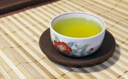 Tè verde giapponese 1 Fotografie Stock Libere da Diritti