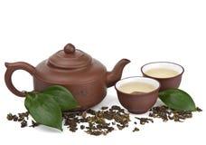 Tè verde isolato immagini stock libere da diritti