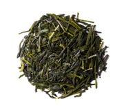 Tè verde, shincha giapponese, prima vampata, tè dell'ombra Fotografia Stock