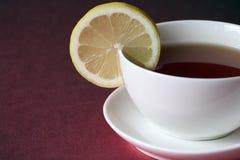 Té avec le citron Image stock