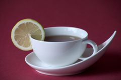 Té avec le citron Images libres de droits