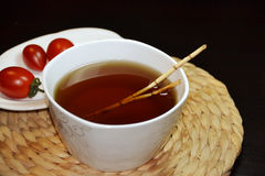 Té bebida-herbario tradicional chino imágenes de archivo libres de regalías