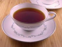 Té caliente en una taza blanca Imagen de archivo libre de regalías