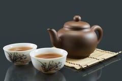 Té chino de Kungfu Foto de archivo