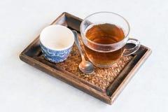 Té chino, tiempo chino del té Foto de archivo libre de regalías