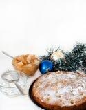 Té con las galletas del Año Nuevo Fotos de archivo