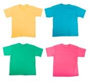 té de chemises images stock