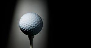 té de golf de bille Image libre de droits