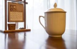 té de la bebida Foto de archivo