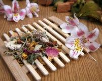 Té de la flor Foto de archivo libre de regalías