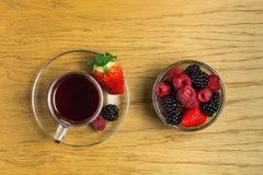 Té de la fruta Fotografía de archivo