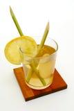Té de la hierba y del jengibre de limón Fotografía de archivo libre de regalías