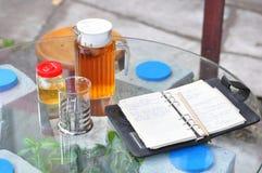té de la inspiración Foto de archivo libre de regalías