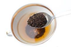 té de la Quebrado-hoja imagen de archivo libre de regalías