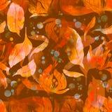 Té de las flores y de las hojas ilustración del vector