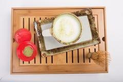Té de Matcha del japonés Imágenes de archivo libres de regalías