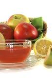 té del Apple-limón Foto de archivo libre de regalías