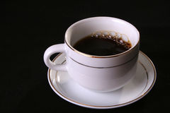 Té del café de la taza Imagenes de archivo